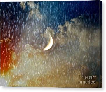 Rain Fall Canvas Print