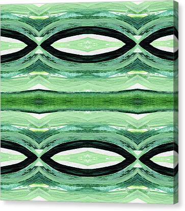 Nature Abstract Canvas Print - Rain Forest- Art By Linda Woods by Linda Woods