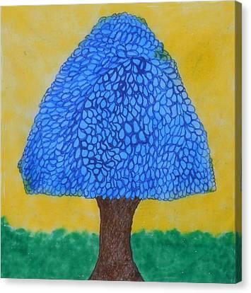 Rain Harmony Tree Canvas Print