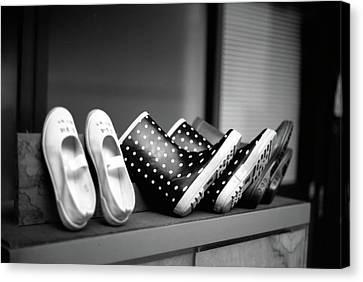 Rain Shoes Canvas Print by Snap Shooter jp