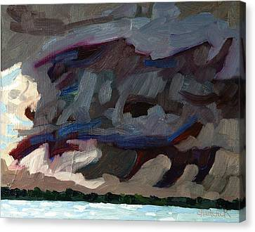 Rain Wrapped Updraft Canvas Print