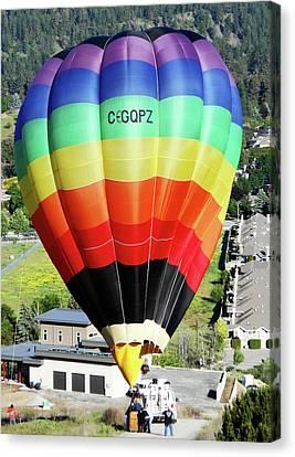 Rainbow Balloon 5 Canvas Print