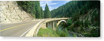 Rainbow Bridge, Highway 55, Payette Canvas Print by Panoramic Images