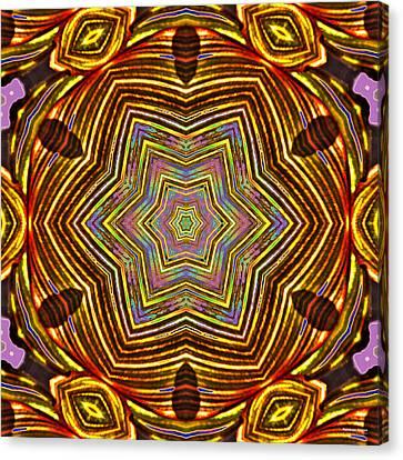 Rainbow Canna Canvas Print by Brian Gryphon