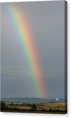 Rainbow Communications Canvas Print by James BO  Insogna