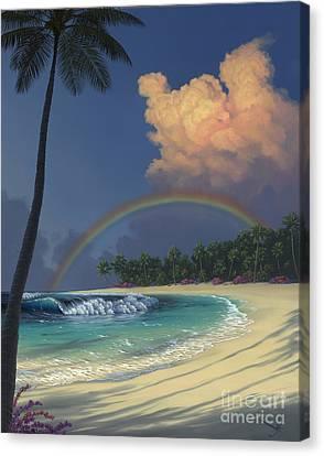Empty Canvas Print - Rainbow Deams by Al Hogue