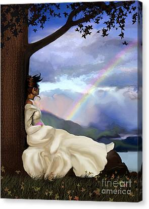 Rainbow Dreamer Canvas Print by Robert Foster