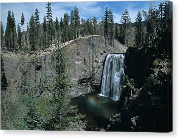 Rainbow Falls California Canvas Print