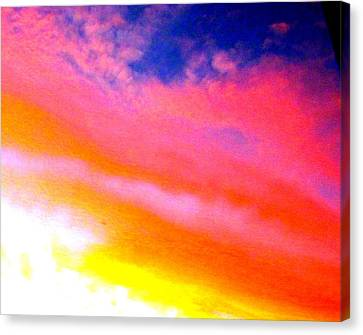 Rainbow In The Sky Canvas Print