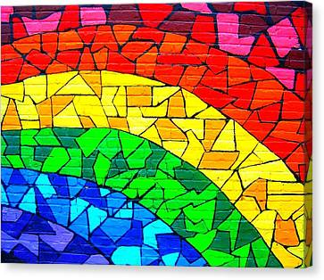 Rainbow ... Canvas Print