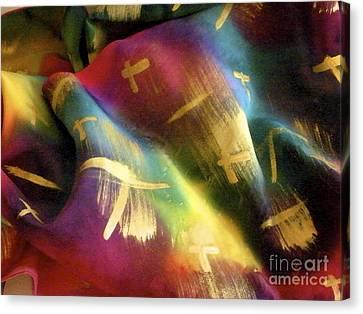 Rainbow Lights Canvas Print by Joanna White