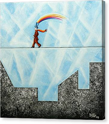 Rainbow Man Canvas Print