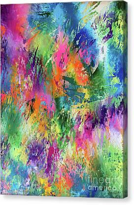 Rainbow Of Life Canvas Print by Jo Ann Bossems