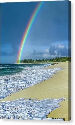 Rainbow Point Canvas Print