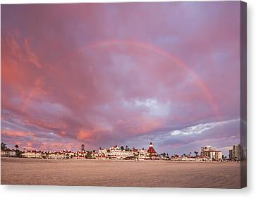 Rainbow Proposal Canvas Print
