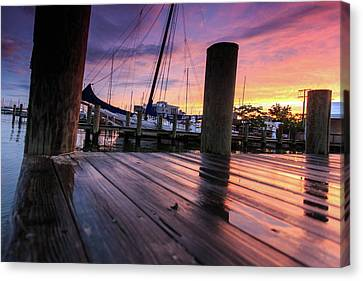 Canvas Print featuring the photograph Rainbow Reflections by Jennifer Casey
