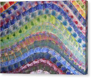 Rainbow Canvas Print by Russell Simmons