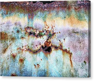 Rainbow Rust Canvas Print by Karen Stahlros