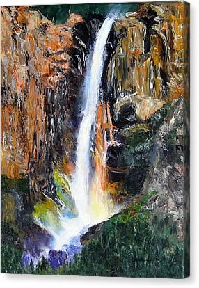 Rainbow Splash Canvas Print