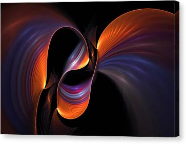 Rainbow Tango Canvas Print by Doug Morgan