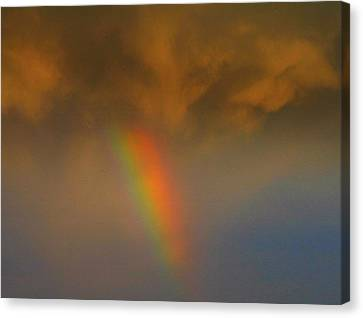 Visual Creations Canvas Print - Rainbow Tornado.. by Al  Swasey