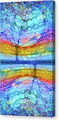 Rainbow Trees Canvas Print