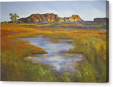 Rainbow Valley Northern Territory Australia Canvas Print