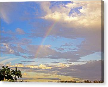 Rainbow Vista Canvas Print by Allan Einhorn