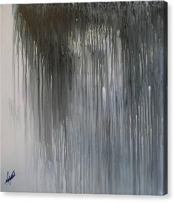 Rained Down Canvas Print