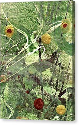 Canvas Print featuring the mixed media Rainforest by Angela L Walker