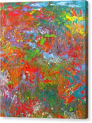 Rainforest Symphony Canvas Print by Christopher Chua