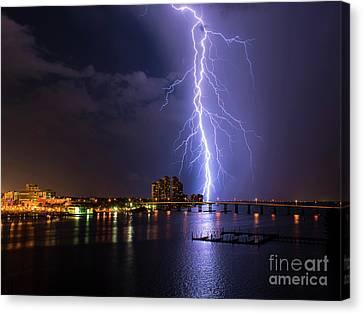 Raining Bolt 40x30 Canvas Print