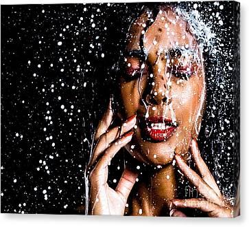Rainning Canvas Print by Gregory Worsham