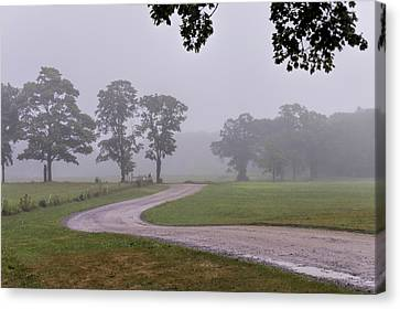 Rainy Day At Appleton Canvas Print by David Stone