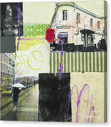 Rainy Day Canvas Print by Elena Nosyreva
