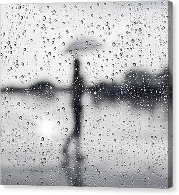 Rainy Day Canvas Print by Setsiri Silapasuwanchai
