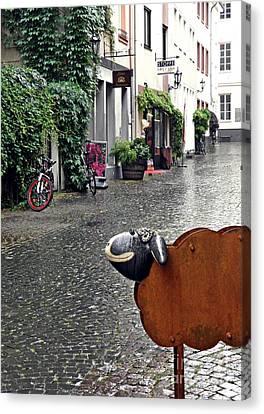Rainy Day Smile Canvas Print