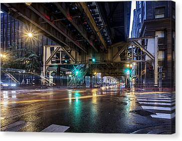 Rainy El Canvas Print by CJ Schmit