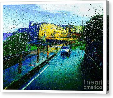 Rainy Puerto Rico Five  Canvas Print