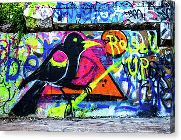 Raise Up Canvas Print by Karol Livote
