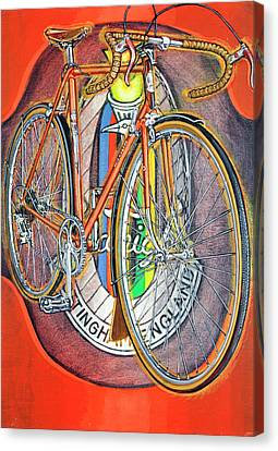 Raleigh Gran Sport Canvas Print by Mark Jones