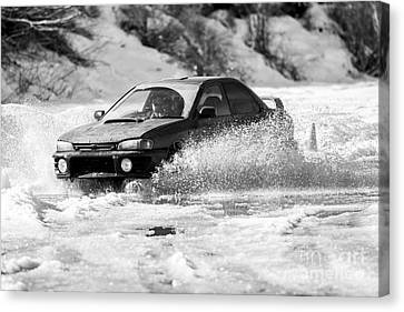 Rally Action Canvas Print