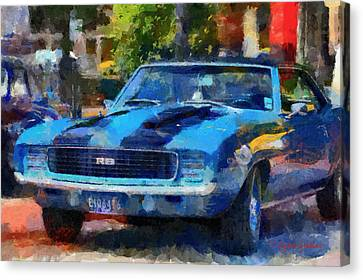 Rally Sport Canvas Print