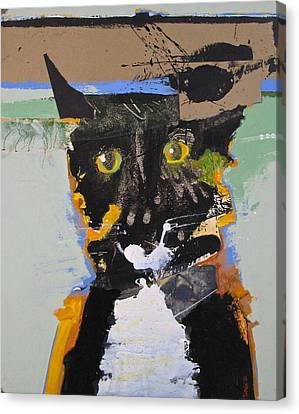 Canvas Print featuring the painting Ralph Abstracted by Cliff Spohn