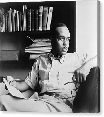 Ralph Ellison 1914-1994, Author Canvas Print by Everett