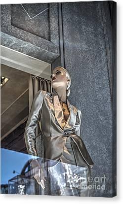 Mannequin Attitude Beverly Hills Canvas Print by David Zanzinger
