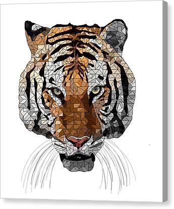 Rama The Tiger Canvas Print