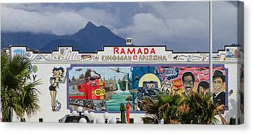 Ramada Kingman Arizona Canvas Print