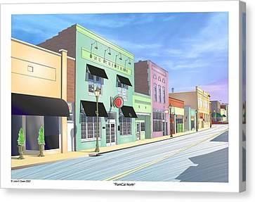 Ramcat North Canvas Print by Lane Owen