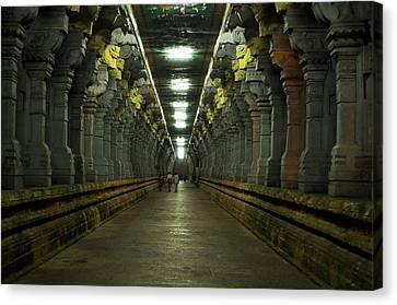 Rameshwaram Temple India Canvas Print